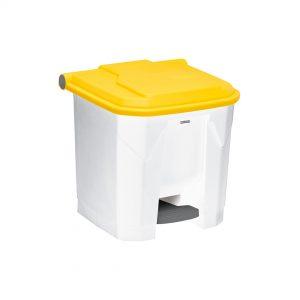 Poubelle-a-pedale-Utilo-30-l-jaune
